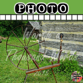 Photo: Pioneer and Settler - Spinning Wheel