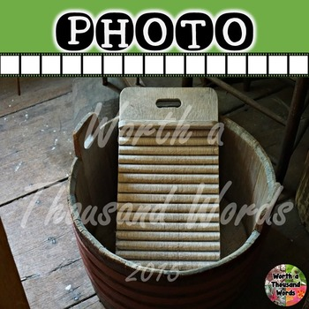 Photo: Pioneer and Settler - Washboard