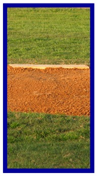 Photo Products - Baseball Field With Blue Accent Theme