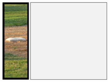 Photo Products - Baseball Field With Black Accent Theme