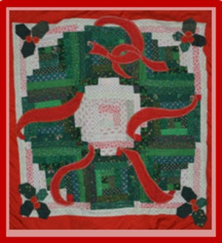 Photo Products - Quilted Christmas Wreath Theme