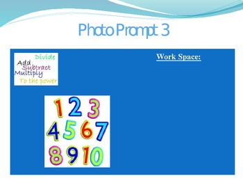 Photo Prompts For Math