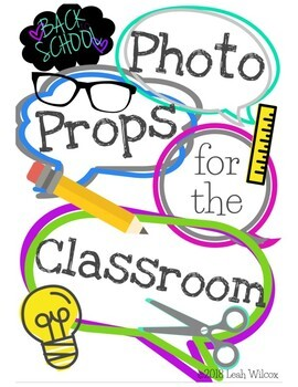 Photo Props for the Classroom