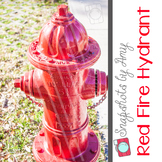 Photo: Red Fire Hydrant