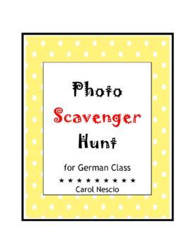 Photo Scavenger * Hunt For German Class