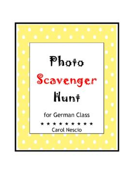 Photo Scavenger * Hunt For German Class