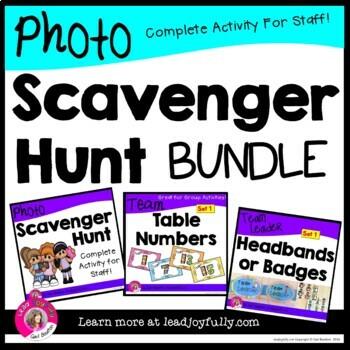 Photo Scavenger Hunt for Staff! Complete Bundle for ...
