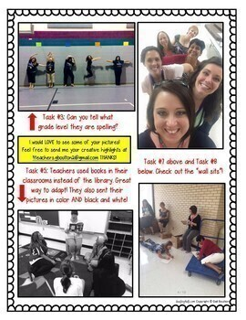 Photo Scavenger Hunt for Staff! Complete Bundle for Principals/Leaders!