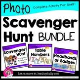 Photo Scavenger Hunt for Staff: (Complete BUNDLE for Principals/Leaders)