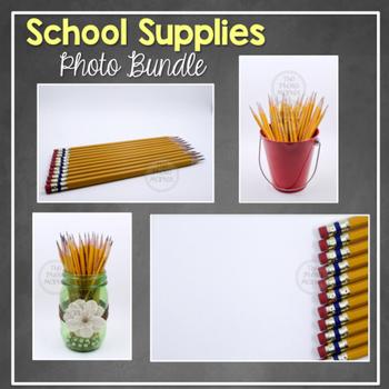 Photo: School Supplies - Bundle of 23 Photos