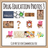 Photo Set for Drug Education Photographic Clip Art Commercial Use