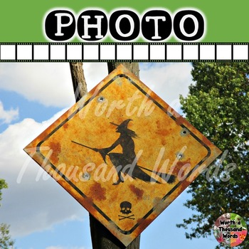 Photo: Halloween - Witch Crossing