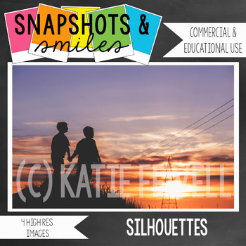 Photo: Silhouette: 4 high res images: