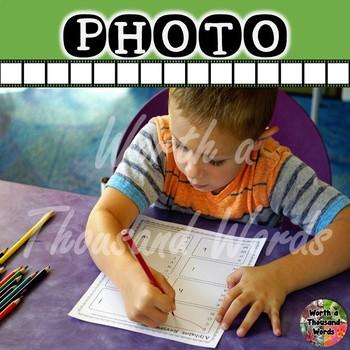 Photo: Student Doing Alphabet Review