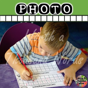Photo: Student Doing Count to 30 Worksheet