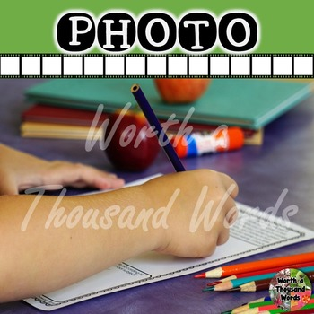Photo: Student Doing Worksheet