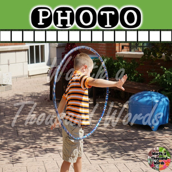 Photo: Student Playing Outside