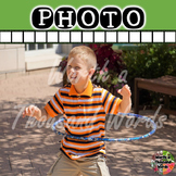 Photo: Student Playing with Hula Hoop