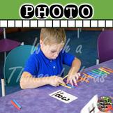 Photo: Student Using Math Manipulative