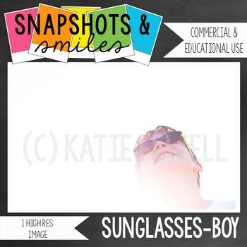Photo: Sunglasses: Boy