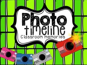 Photo Timeline Classroom Memories