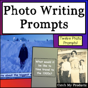 Writing Prompt Photos for Promethean Board