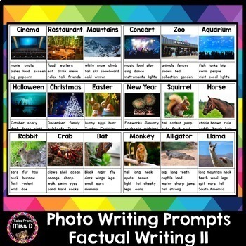 Photo Writing Prompts