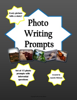 Photo Writing Prompts Pack