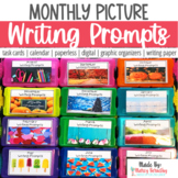 Photo Writing Prompts Year Long Bundle