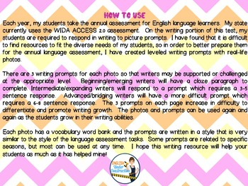 Photo Writing Prompts for Writers of Every Level - Sample