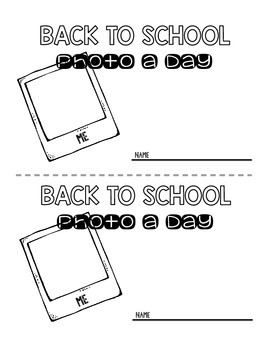 Photo a Day- Back to School