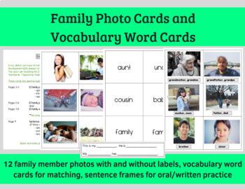 Picture Cards 4 Set Bundle (ESL, ELL, Vocabulary)