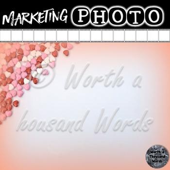 Stylized Photos: Valentine Candy Hearts (2)