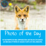 Photo of the Day Prompts, Power Point, PDF and Response Option