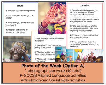 Photo of the Week #3 for Mixed Group Speech Therapy