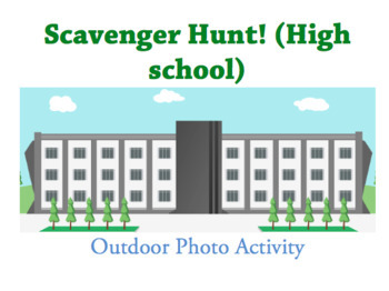 Photo scavenger hunt (Word Doc)