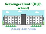 Photo Scavenger Hunt in Park HIGH SCHOOL (Word Doc)