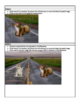 Project Based Learning Create Photo-shopped images using PhotoShop CS5 CS6 PBL