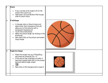 PhotoShop CS5 CS6 Create Animated GIF project Step by Step directions PBL