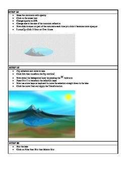 Project Based Learning Create a Digital Painting using PhotoShop CS5 CS6 PBL