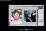 PhotoShop CS5 Textures Animal Morphing People Face Change Video Directions