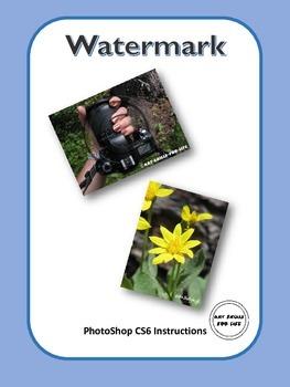 PhotoShop CS6 - Instructional Watermark Lesson