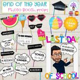 Photocall fin de curso- End of the year photo booth props-