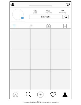 Photogrand Printables and Digital Templates Instagram Style (w/ Editable pages)