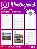 Photogrand Printables and Digital Templates Instagram Styl