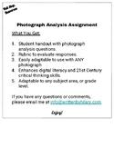 Photograph Analysis Assignment