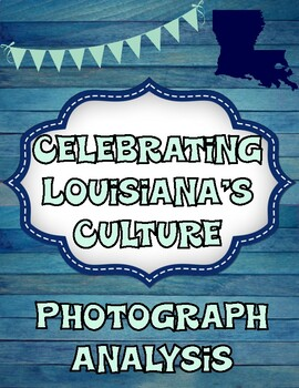 Photograph Analysis of Parades in Different Louisiana Communities Organizer