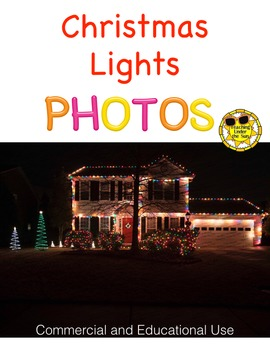 Photos for Commercial Use, Stock Photo- Christmas Lights