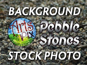 Photograph - Pebble Stones - Background Texture - Photo