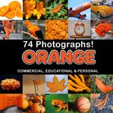 Photos Photographs ORANGE OBJECTS clip art